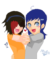 collab 6 cuz were awesome by Neonmoon133