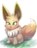 Eevee by nancher