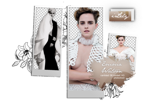 Emma Watson |{Pack Png 3} by iLely