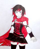 Ruby Rose Volume 4 Version by SonicHeroXD