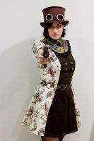 Steampunk little lolita by grafik-fashion