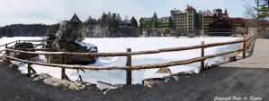 Mohonk Mountain House and Lake by peterkopher