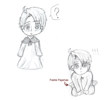 (( Sketches: New style? )) by Ask-2pChibiAmerica
