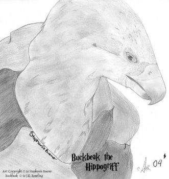 _Buckbeak fanart_ by charmed-angel
