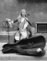 Cellist by auguratrix