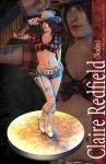REV2 Pinup - Claire Redfield (Rodeo) by xTh13teeNx