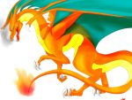 Charizard Sketch by TheLittleWaterDragon