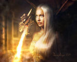 Mother of Dragons by Ideasplayer