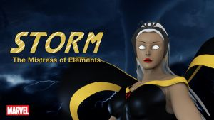Storm The mistress of elements by merage