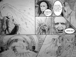 Voldemort vs Dumbledore 1 by JH-creator