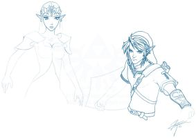 Legend of Zelda - The Princess' Guardian - WIP by lthot