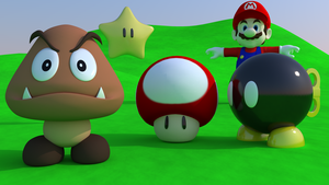 Mario characters made so far by brektzar