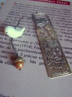 Bird bookmark - 2 by curry-brocoli