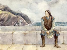 Fingon in Nevrast by Filat