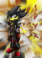 Spyx the Hedgehog by SpyxedDemon