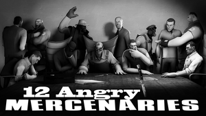 12 Angry Mercenaries by Robogineer