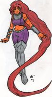 Starfire Redesign 2 by ObsoletelyFabulous