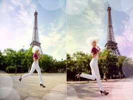 Paris in White 3 by Lucem
