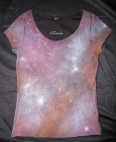 Galaxy t-shirt by TheKaterka