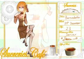 |Sucreries Cafe| application- Bernadette Fabia by VictorianOlive