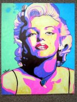 A Night with Marilyn by CloudCityArt