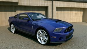 2010 Ford Shelby GT500 by melkorius