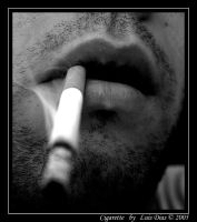 Cigarette by MadPhotoProject