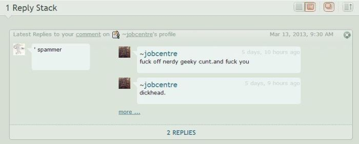spammer jobcentre manners by CharlieFleed