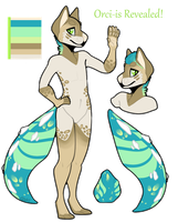 ORCI-IS EGG REVEAL #1 by pastelgecko