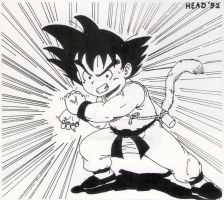 Dragon Ball old drawing by Almayer