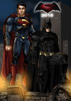 Superman/Batman 2015 by dark-BuB