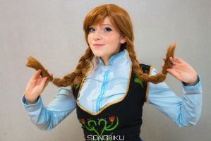 Anna - Frozen by Childishx