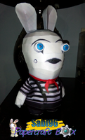 Mime Rabbid Papercraft by Sabi996
