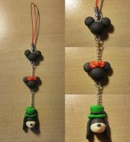 Disney Charm~ Polymer Clay by FeatherLetters
