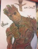 I Am Groot by PS508