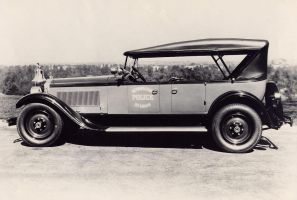 Packard Police Car by Step-in-Time-Stock