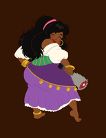 hungry princess - esmeralda by kaffepanna