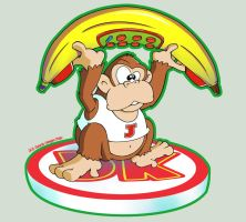 Donkey Kong Jr - Telephone by Gerry-Lee