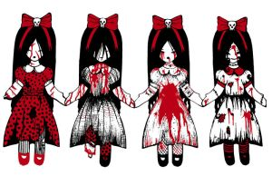 Dead Girls II Bloody by deadgirl333