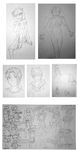 Monthly Sketch Dump - September 2016 by MizumiKahago