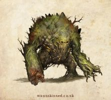 Bog Beast by MoonSkinned