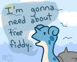 Lapras needs about tree fiddy by darkgex