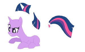 Twilight Sparkle Base - #1 by MyLilAdoptables