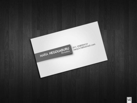 Business card Hegouaburu by S0LANGE
