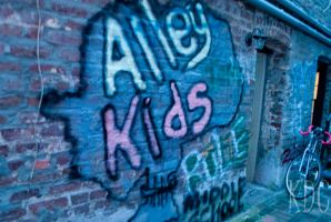 Alley Kids by Ducktapedllamas