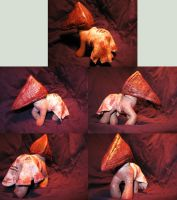 My Little Pyramid Head by bioshroom-experiment