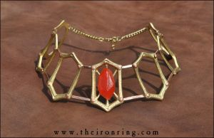 Melisandre's necklace - Front by TheIronRing