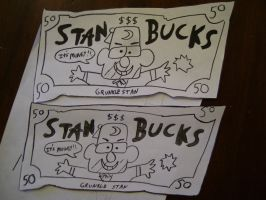 Stan Bucks by AJLeefan4life