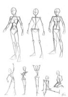 Female Body Anatomy by DerangedMeowMeow