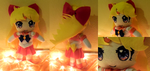 Sailor Venus Plushie by frillycarnival
